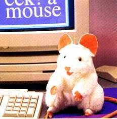 T2219 White Mouse